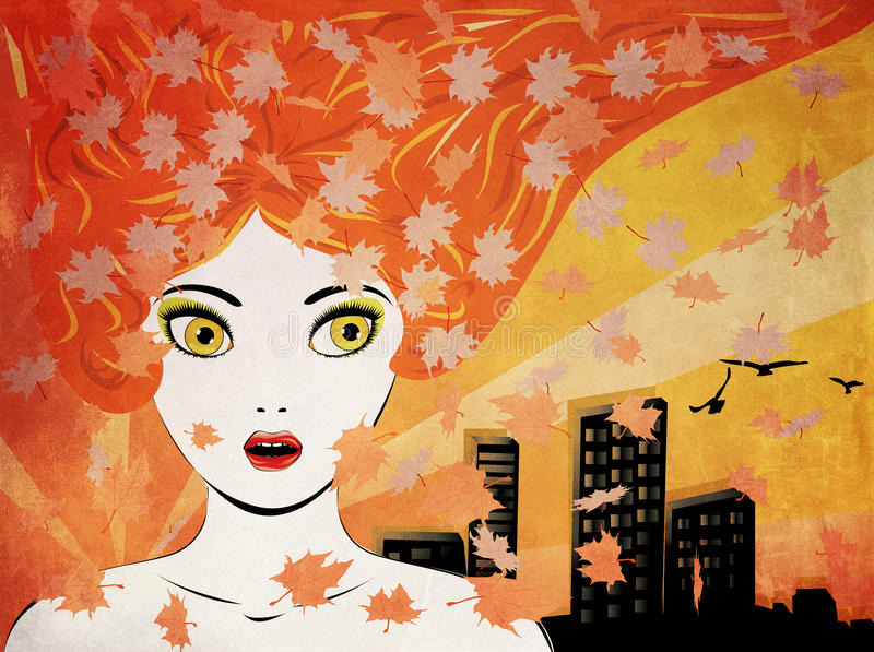 Download Autumn And The City Stock Photography - Image: 26825402