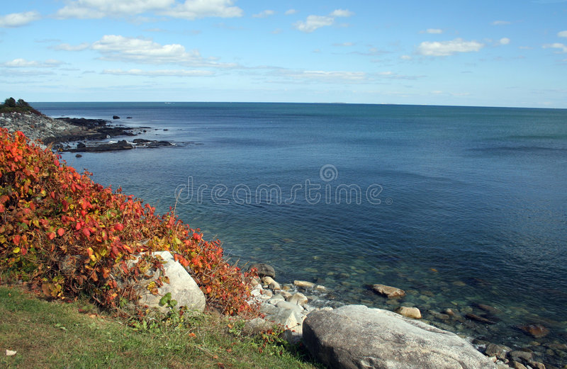 Download Autumn Coastline Royalty Free Stock Image - Image: 7613656