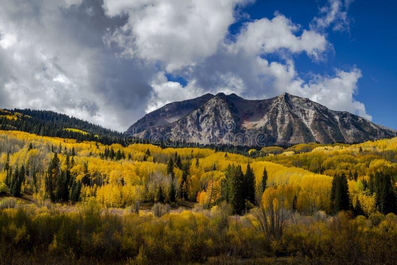 Autumn Color à San Juan et Rocky Mountains du Colorado image stock
