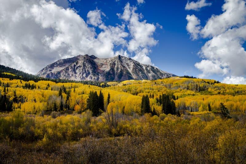 Autumn Color in San Juan and Rocky Mountains of Colorado stock photos