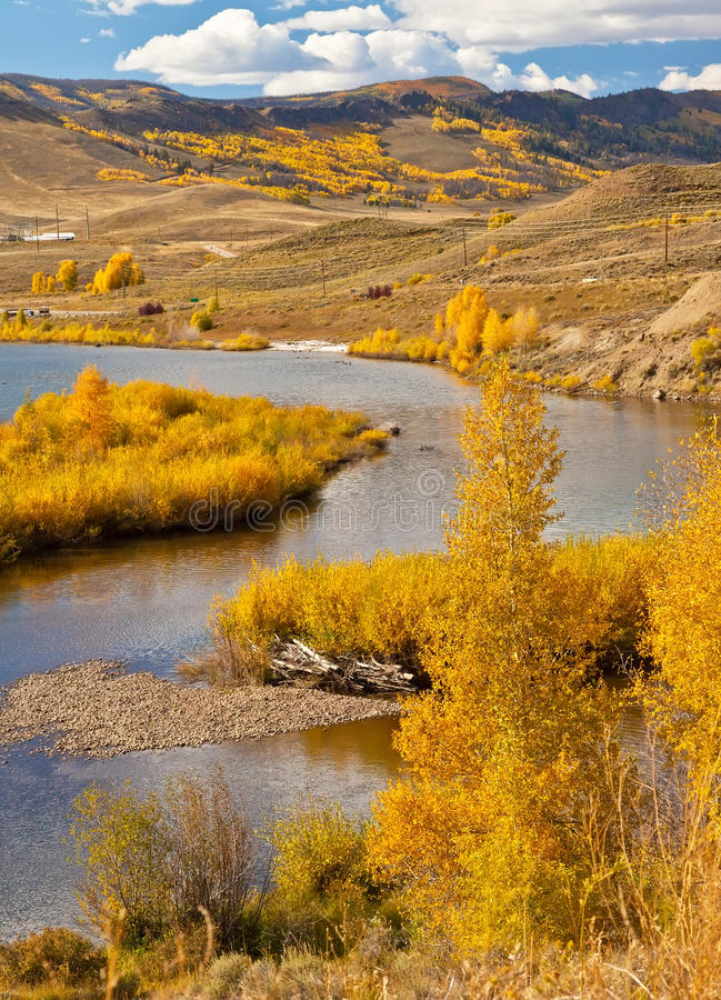 Download Autumn in Colorado stock photo. Image of golden, countryside - 27147018