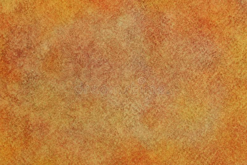 Autumn colored grunge canvas texture or vintage watercolor paint background stock photo