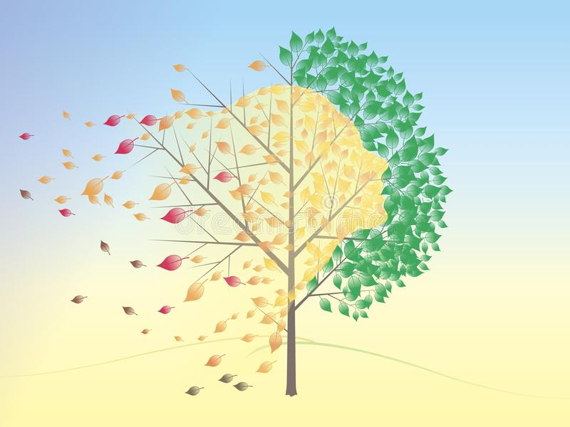 Autumn stock illustration