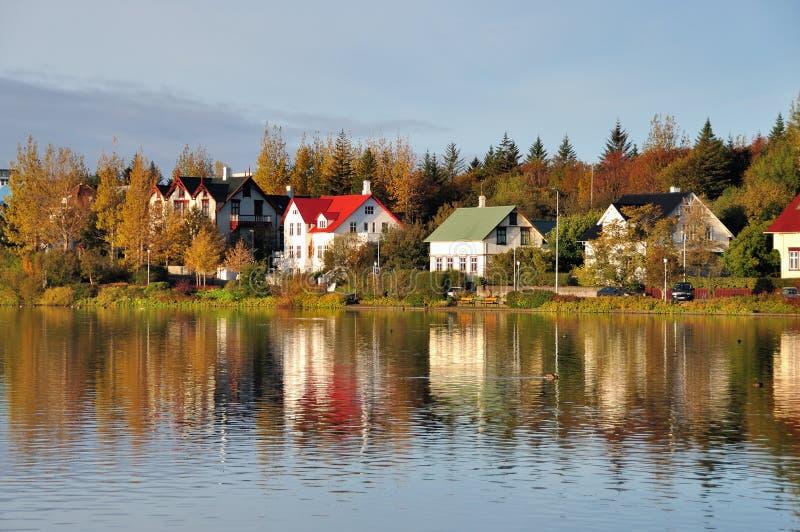 Autumn Colors e reflexão imagens de stock