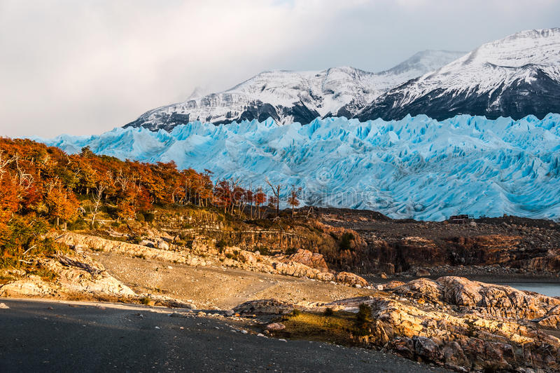 Autumn Colors in Patagonië royalty-vrije stock foto's