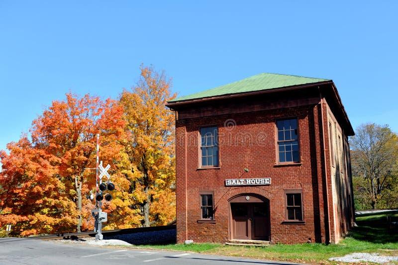 Autumn Colors Salt House stockfoto