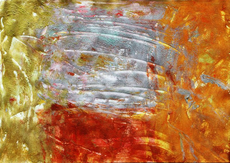 Autumn colours abstract background royalty free illustration