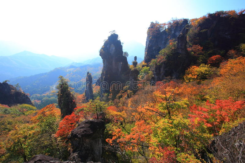 Download Autumn colours of crag stock photo. Image of crag, environment - 35313518
