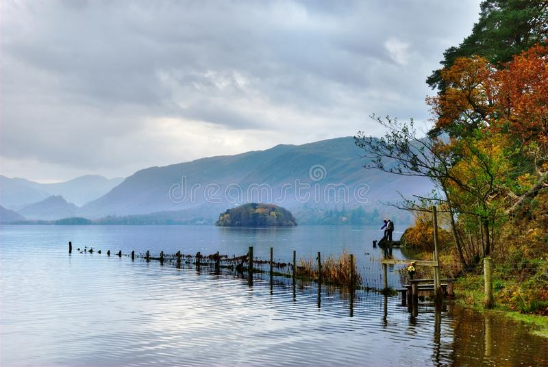 Autumn Colours At Friar S Crag Royalty Free Stock Photography