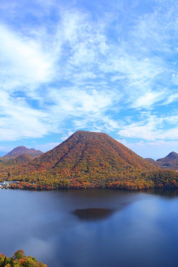 Free Autumn Colours Of Mountain And Lake Stock Photo - 36653240
