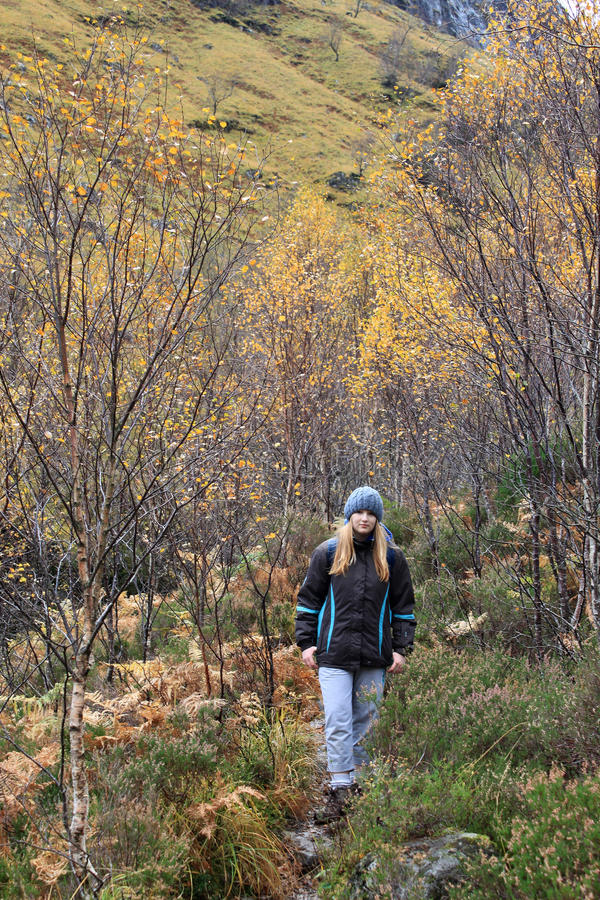 Download Autumn Colours And On Path To Lost Valley Glencoe Stock Photo - Image: 21876348