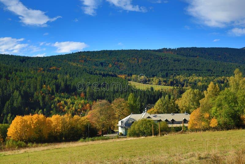 Download Autumn Colours, Zelezna Ruda, Boemerwald, Sumava Czech Republic Stock Image - Image: 34470279