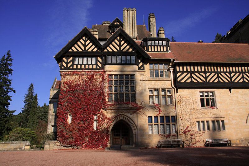 Autumn At Cragside House Royalty Free Stock Image