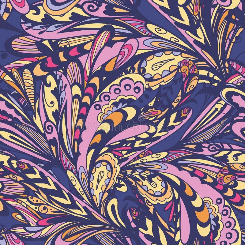 Autumn Creative Abstract Pattern illustration stock
