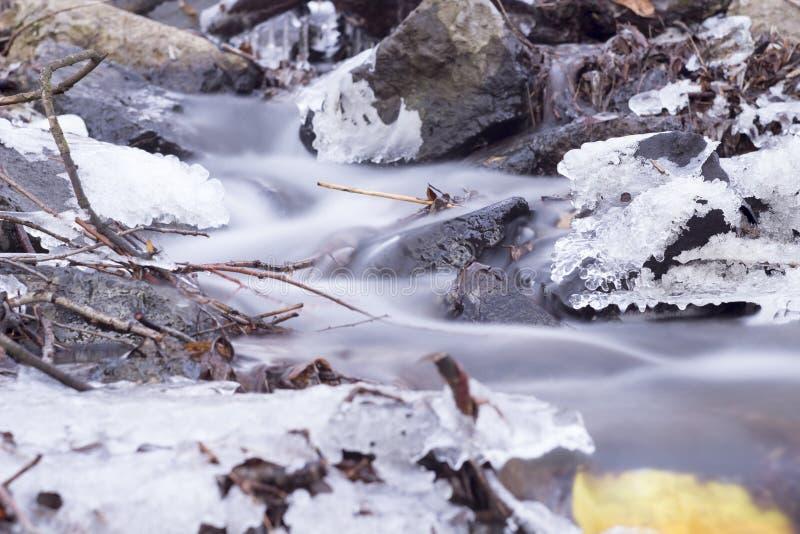 Autumn Creek fotografía de archivo