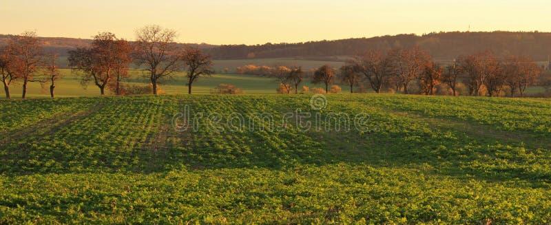 Autumn Czech landsape stock images