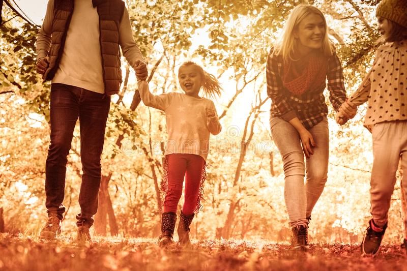 Autumn day for fun. stock photography
