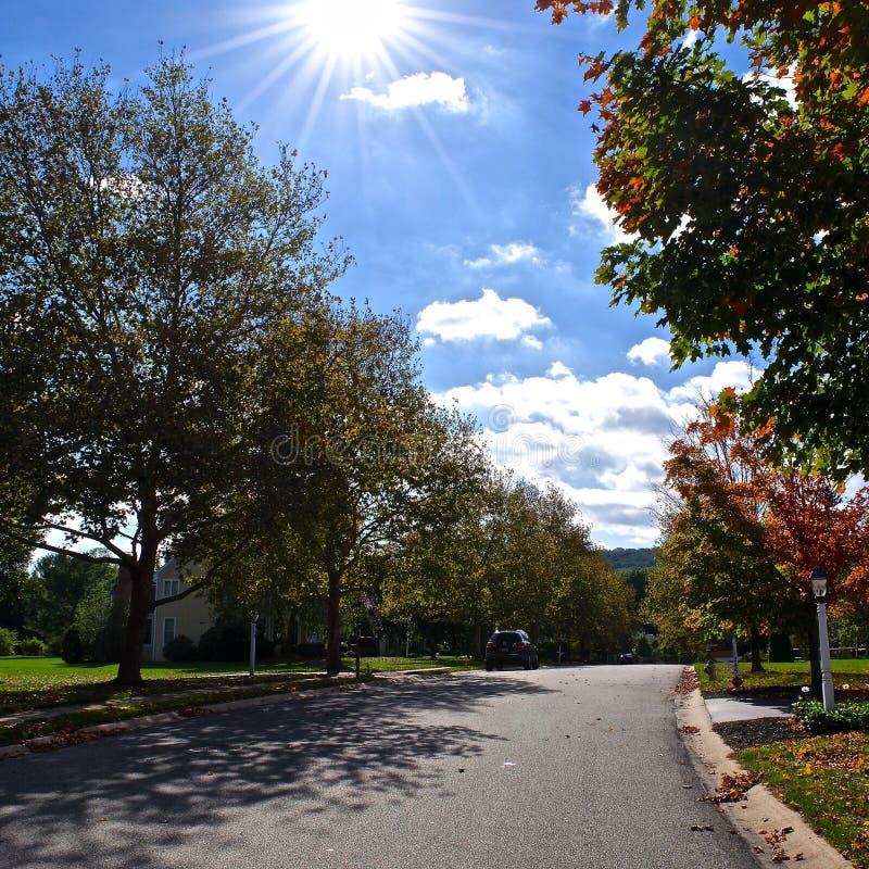 Autumn Day no PA imagens de stock royalty free