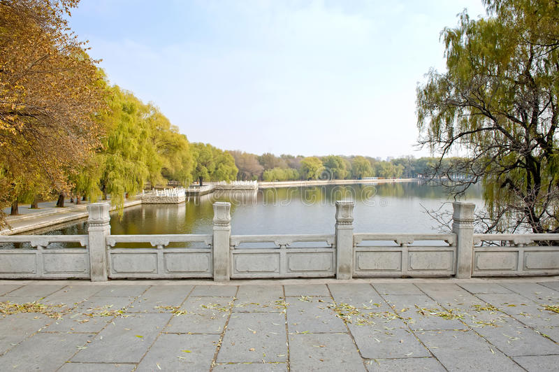 Download Autumn day in park stock image. Image of bright, autumn - 27848043