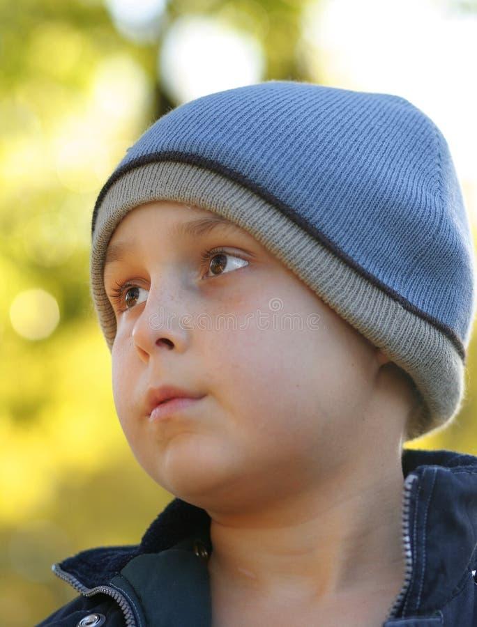 Download Autumn Days stock image. Image of head, jacket, child, portrait - 30681