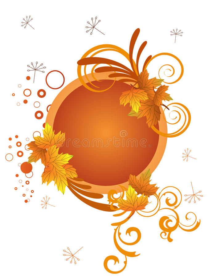 Autumn design stock illustration