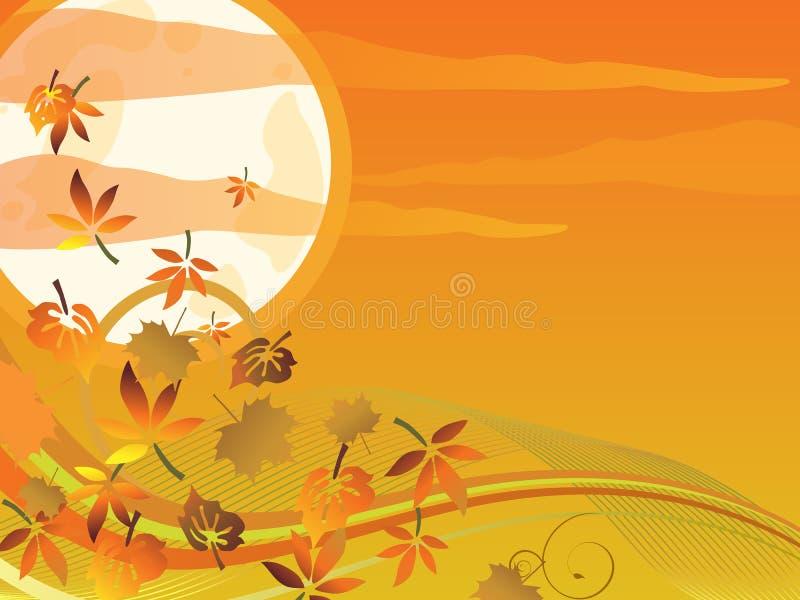 Autumn design royalty free illustration