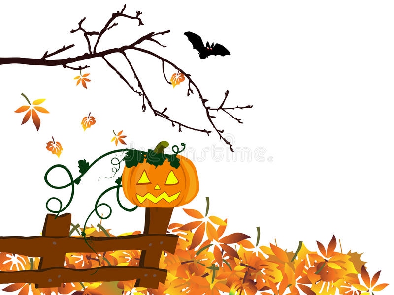 Autumn design - halloween royalty free illustration