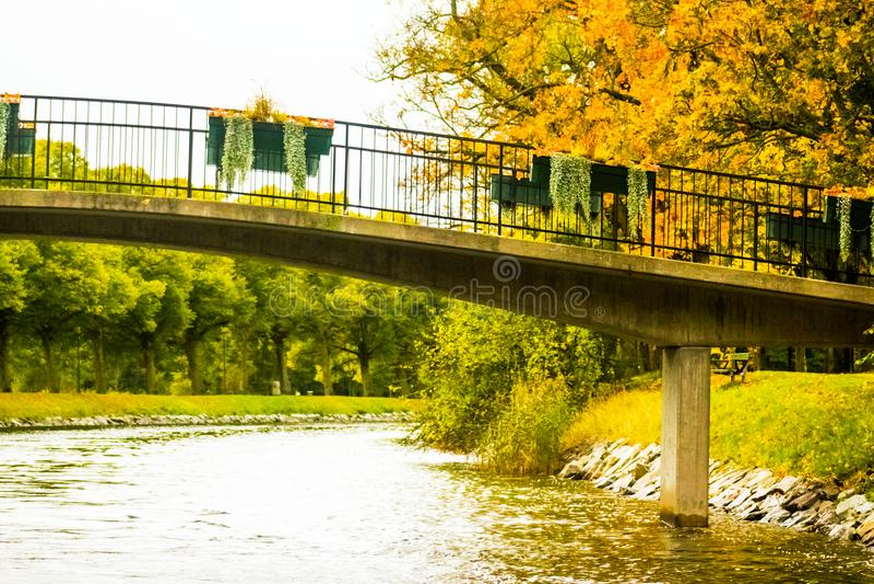 Autumn in Djurgarden, Stockholm, Sweden royalty free stock photos