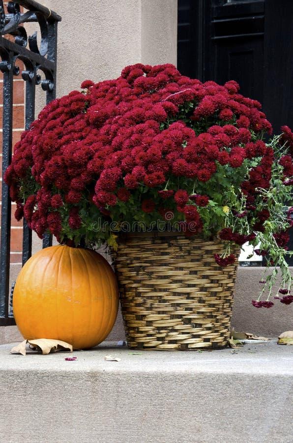 Autumn Doorstep fotografie stock