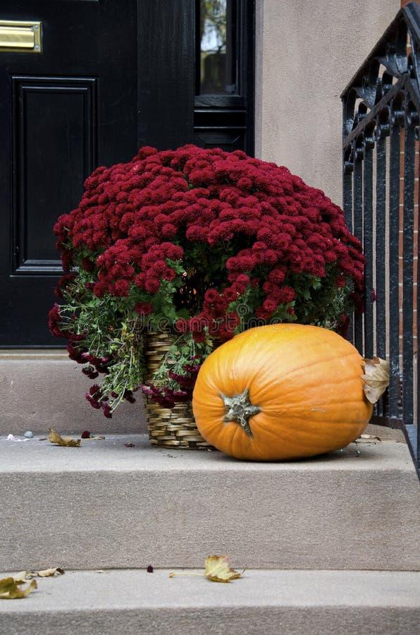 Autumn Doorstep fotografia stock