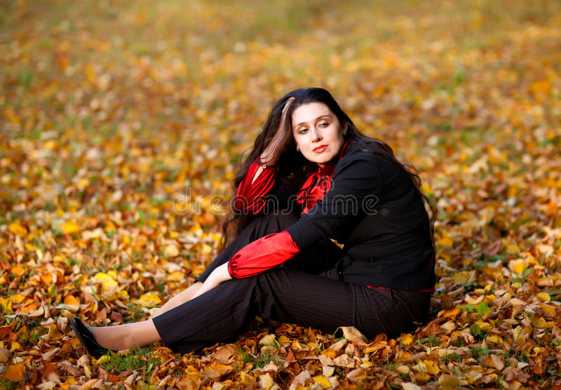 Autumn dreams royalty free stock photography