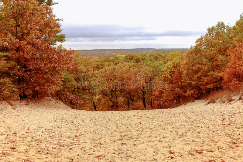 Autumn Dune Vista lizenzfreie stockbilder