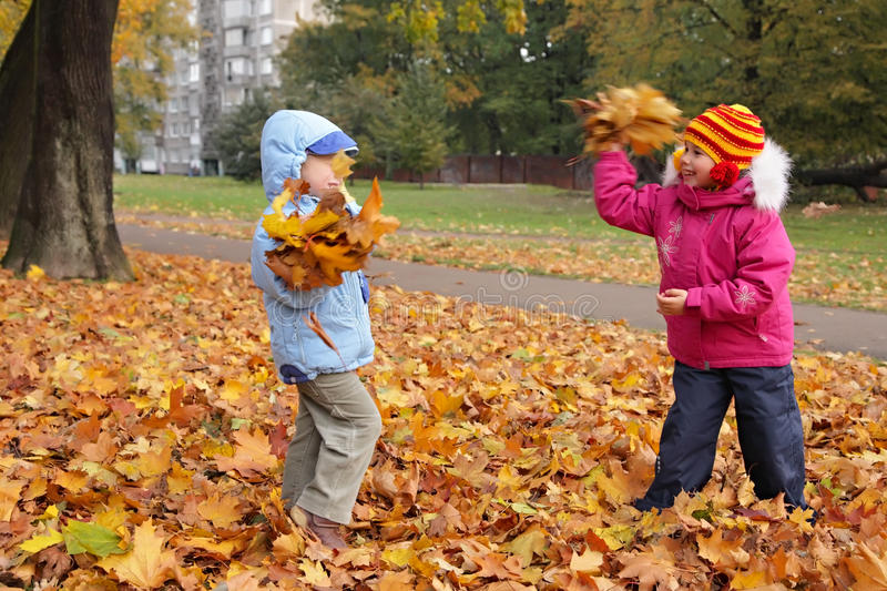 Autumn entertainments royalty free stock photography