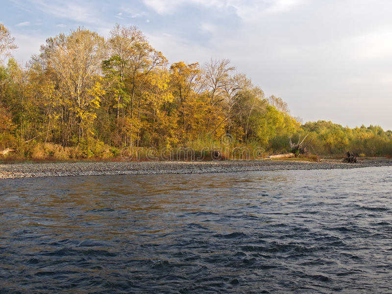 Download Autumn Evening At The River Stock Photo - Image: 26011284