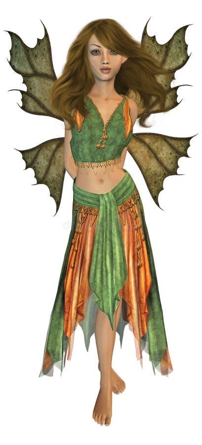 Autumn Fairy Royalty Free Stock Image
