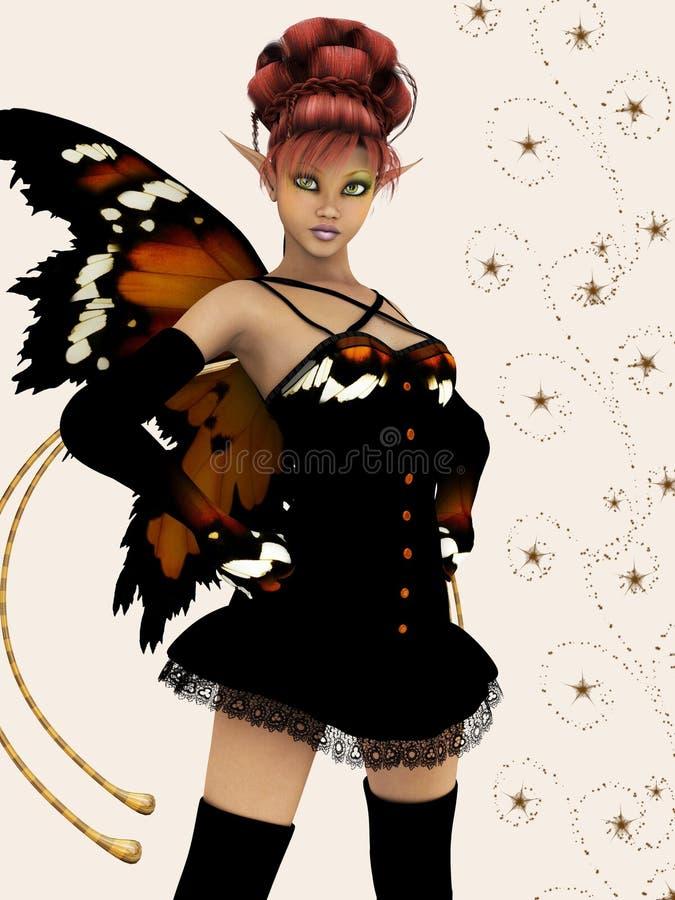 Download Autumn fairy stock illustration. Illustration of autumn - 8464653