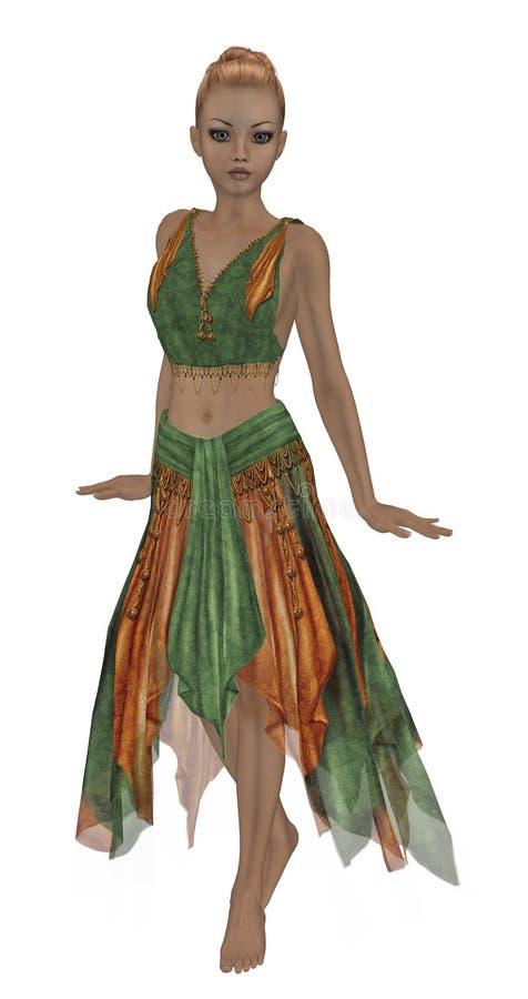 Download Autumn Fairy stock illustration. Illustration of gremlin - 9861122