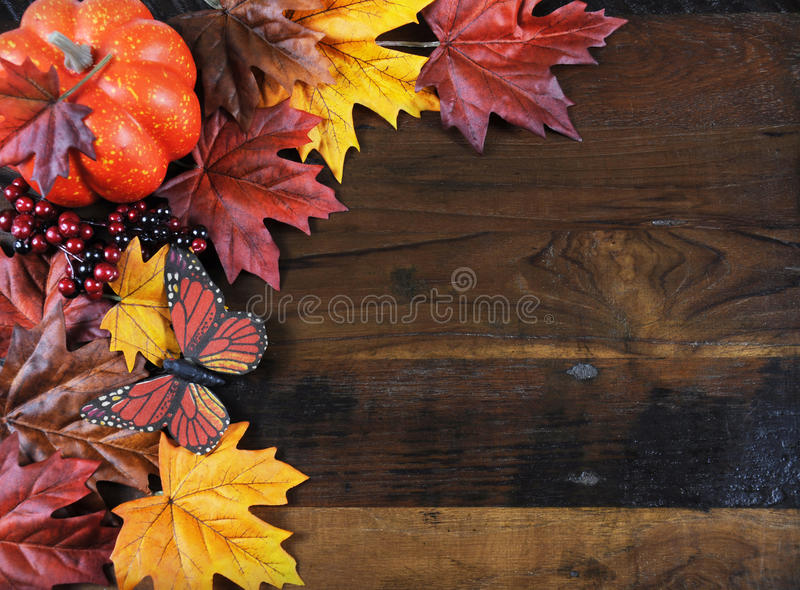 Autumn Fall bakgrund med kopieringsutrymme arkivbilder