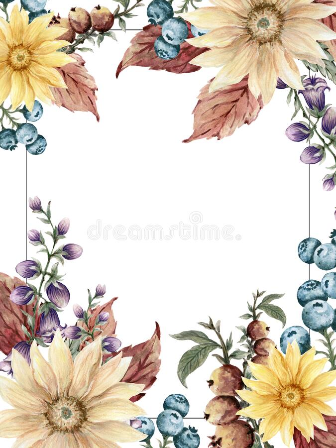 Free Autumn Fall Botanical Berries Lavender Stock Images - 190100784