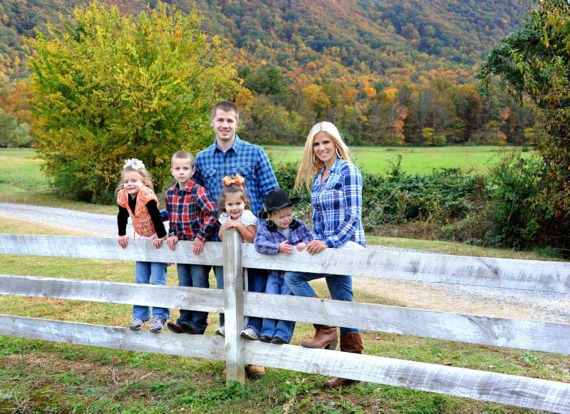 Autumn Family Time royalty-vrije stock foto's