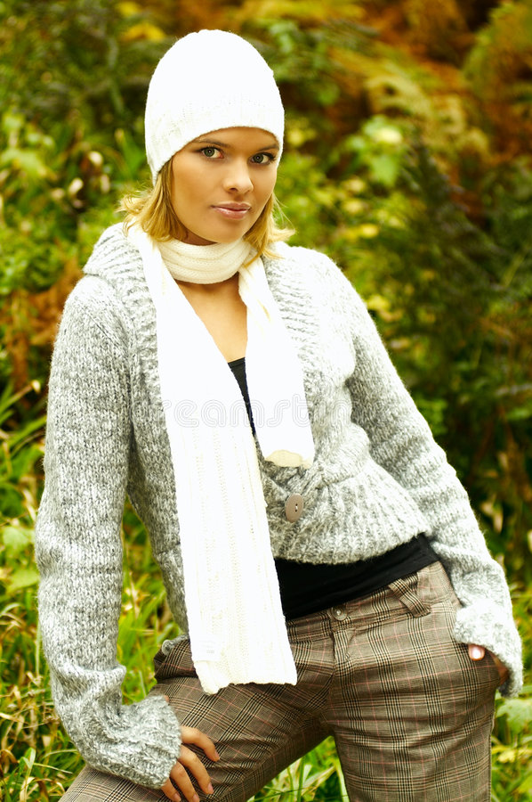 Autumn Fashion royalty free stock photography
