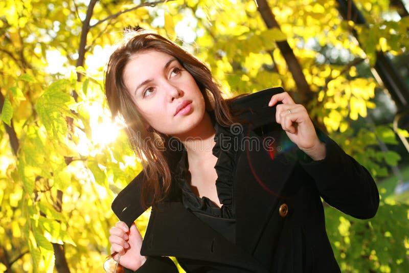 Autumn fashion stock image