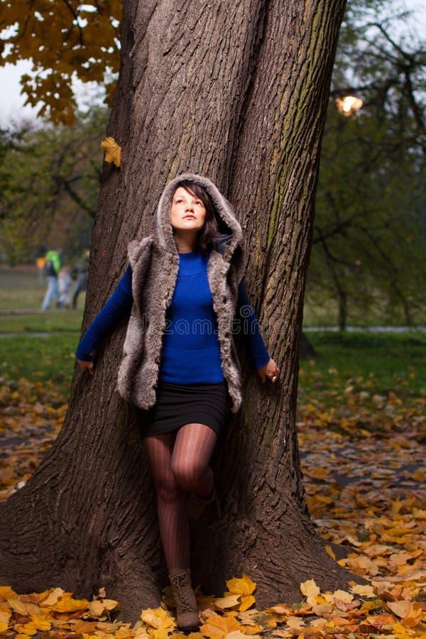 Download Autumn fashion as sunset stock photo. Image of beautiful - 21821982
