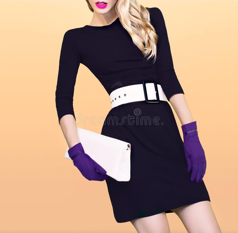 Autumn Fashion Girl photos libres de droits