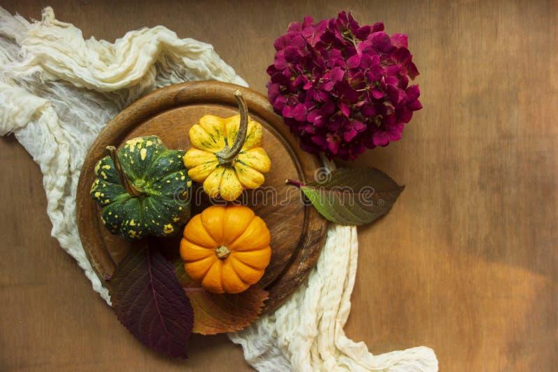 Autumn Flatlay immagine stock