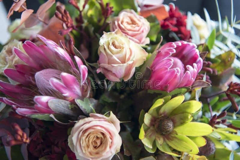 Autumn Flower Bouquet imagen de archivo