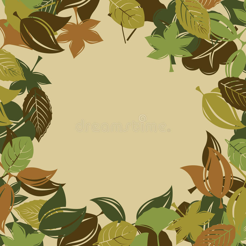 Download Autumn foliage background stock vector. Illustration of flower - 15629670