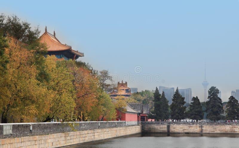 Autumn Forbidden City Royalty Free Stock Photo