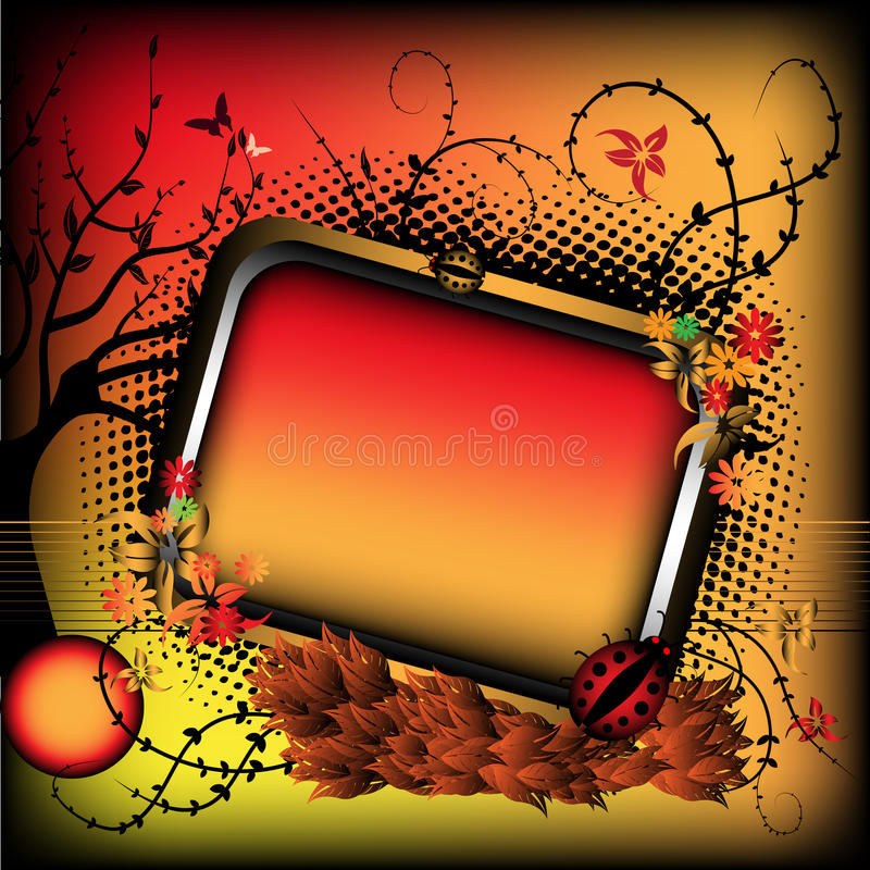 Download Autumn Frame Royalty Free Stock Photo - Image: 11043415