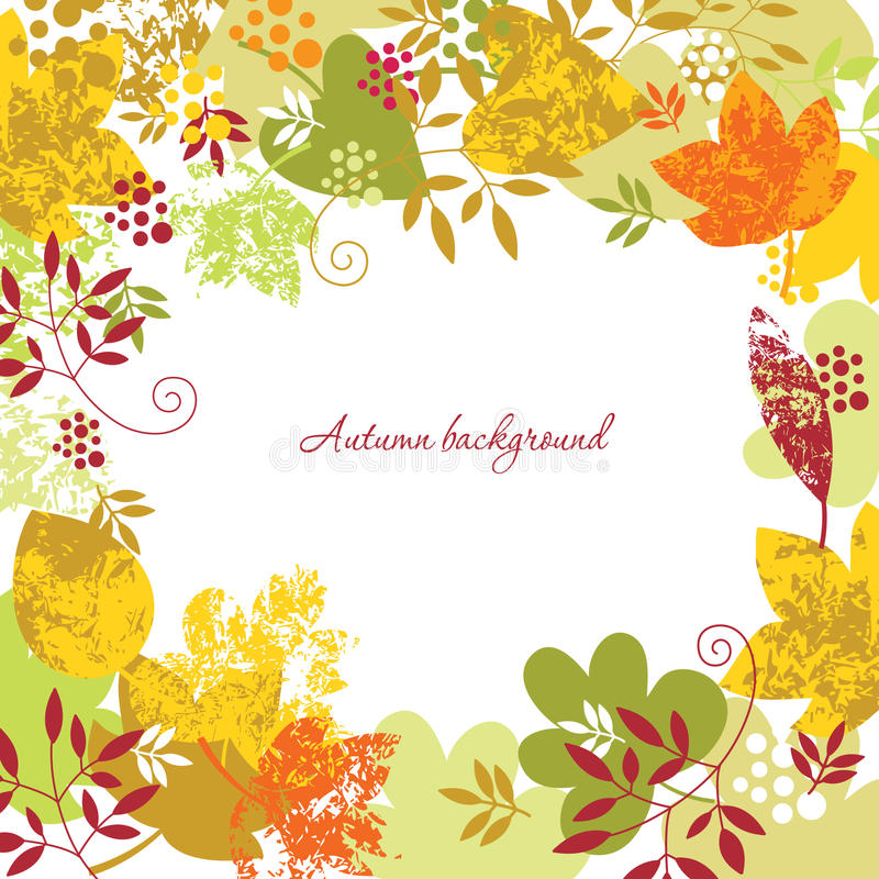 Download Autumn frame stock vector. Image of ornate, natural, autumnal - 15679295